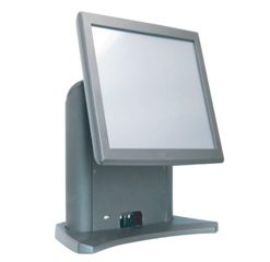 POS Hardware 15 inch Vertical Standing All In One POS Terminal