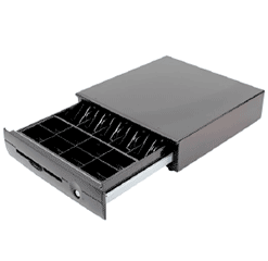 Heavy Duty POS Cash Drawer with Locking Lid