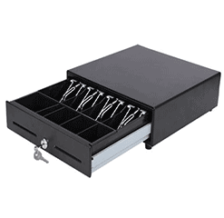 POS Hardware Mini Foot Print Cash Drawer
